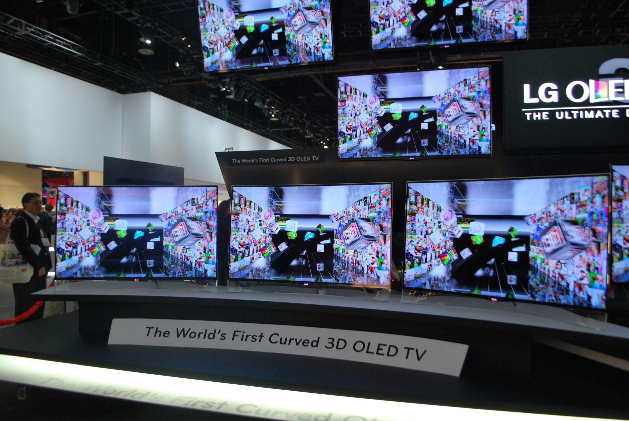 LG chce zdetronizować Samsunga OLED-ami