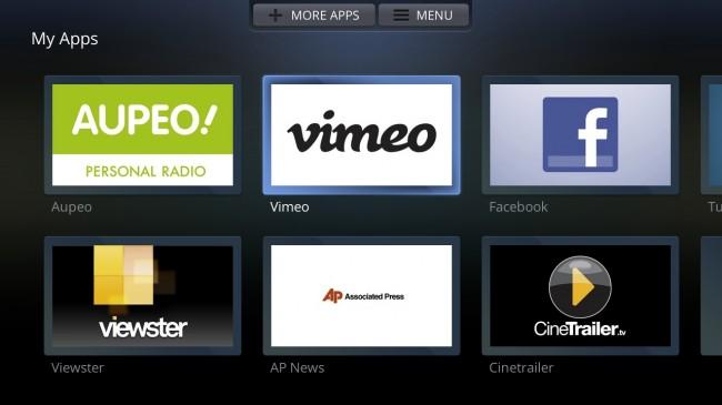 Opera TV screen