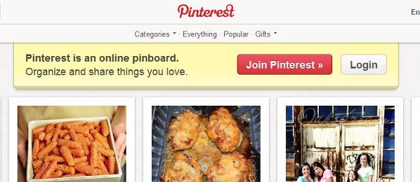 Nie brakuje polskich klonów Pinteresta. Niektóre są bezczelnymi kopiami