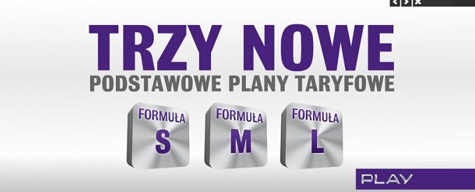 Nowe abonamenty w sieci Play to Formuły S, M oraz L! Oto nowe stawki