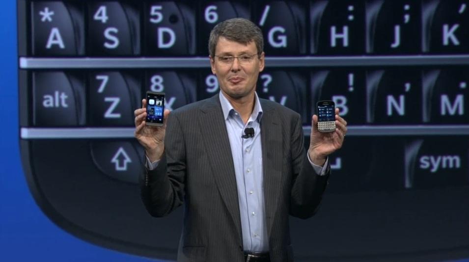 Nowe BlackBerry sprzedają się słabo, a tablet Playbook w zasadzie został porzucony