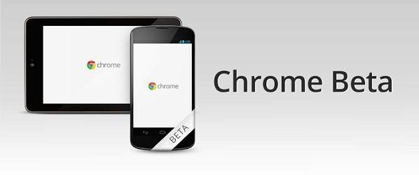 Google Chrome trafia na Androida w wersji beta… ponownie