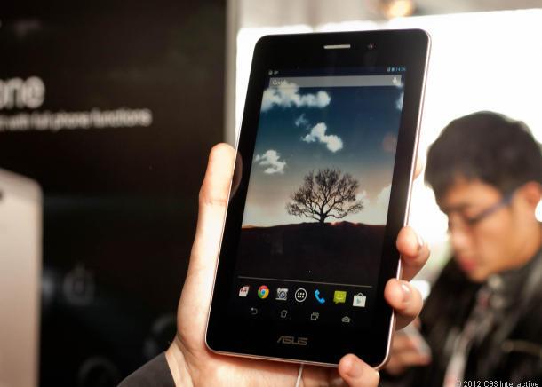 "MWC 2013: Asus FonePad – siedmiocalowy ""telefon"""