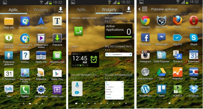 Android Jelly Bean Samsung Galaxy S II (3)