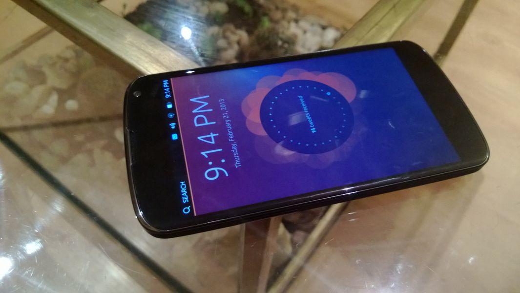 Androidowi brakuje sprytnej obsługi dotykowego interfejsu