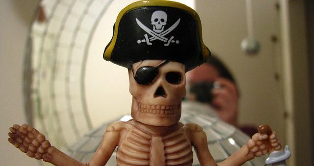 Jestem leniwa, nie piracę