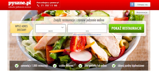 Pyszne.pl – szybkie i dobre zamawianie jedzenia przez internet