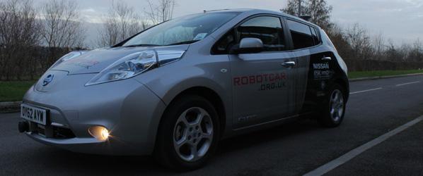 Brytyjczycy z Uniwersytetu w Oxfordzie konstruują taniego konkurenta dla samochodu Google'a