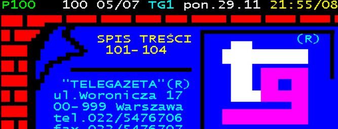 Telegazeta – namiastka internetu w każdym domu
