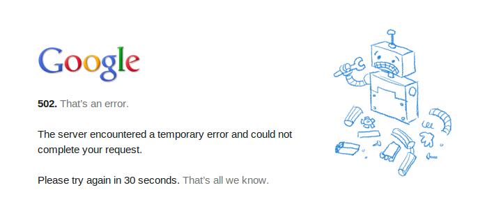 Dysk Google nie działa. Lepiej zabezpieczyć się przed problemami z chmurą