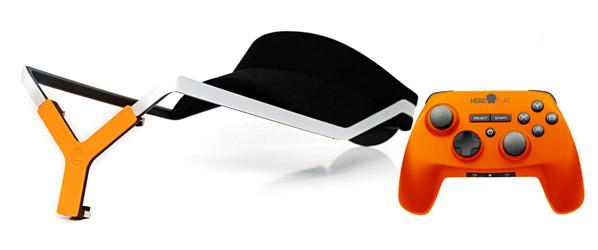 Headflat – czapka i gamepad dla smartfonów z Kickstartera