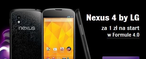 W Play sprzedają Nexusa 4. I to bardzo korzystnie!