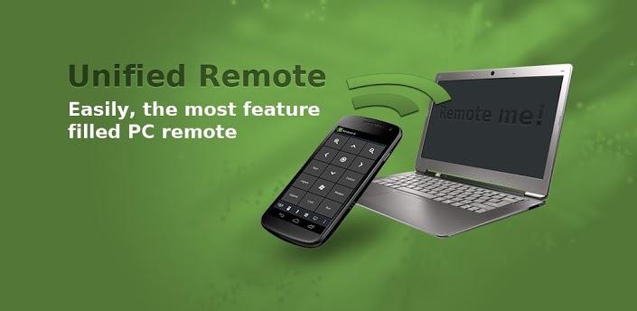 Unified Remote na Androida, czyli zrób ze smartfona pilota do komputera