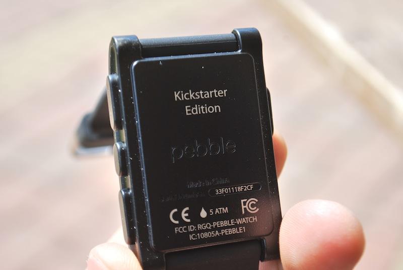 6. Pebble - Kickstarter edition