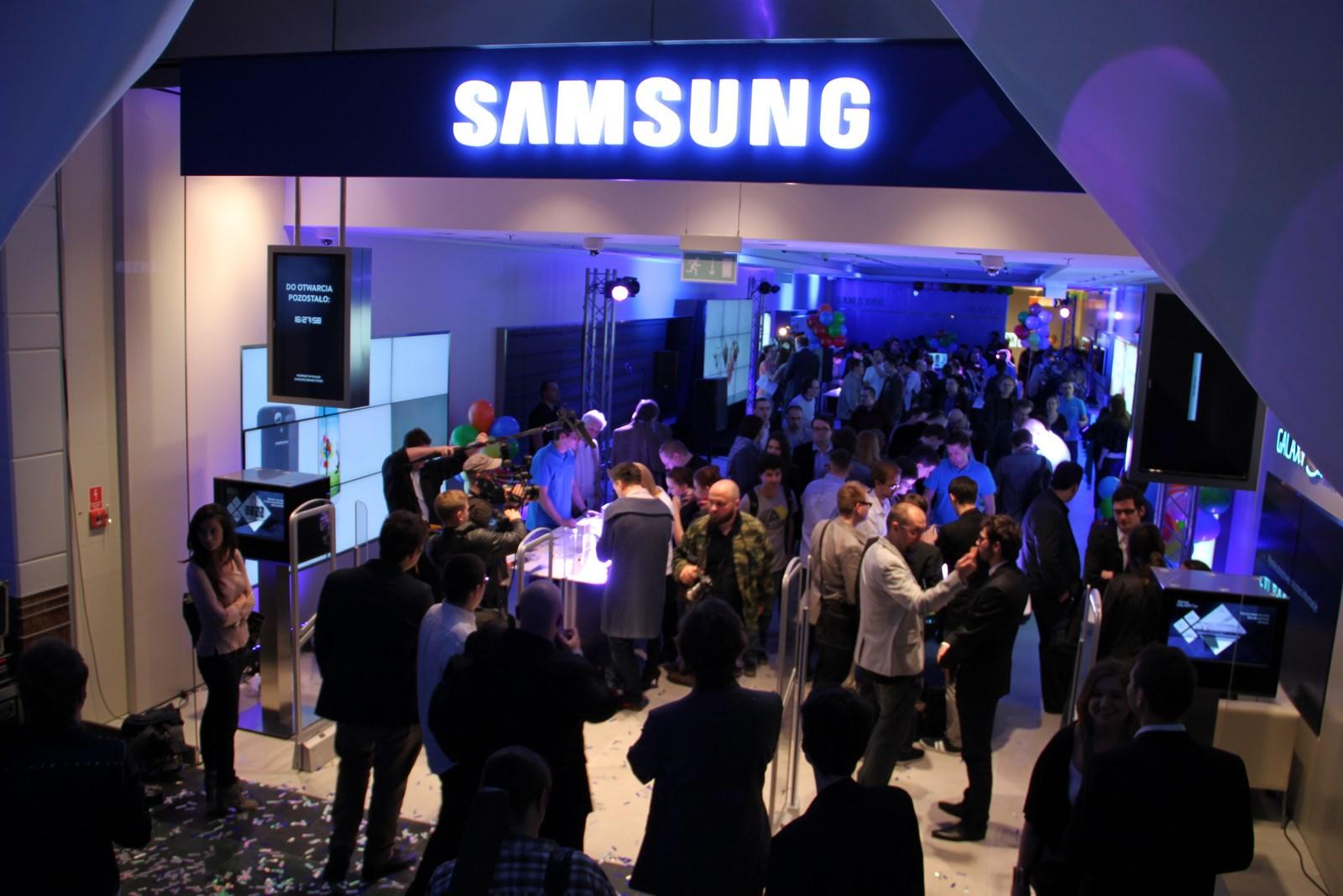 Samsung Brand Store dziś zostanie otwarty. My już tam byliśmy