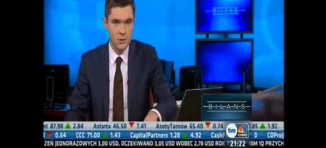 W TVN CNBC o wynikach spółek technologicznych