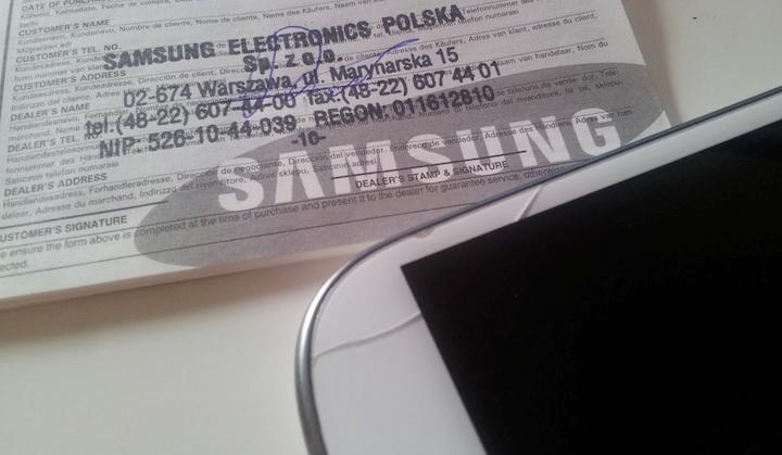 """O tym, jak Samsung odmówił mi naprawy Galaxy S III. """"Bo szybka pęknięta"""""""