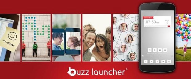 Buzz launcher – Android  jakiego jeszcze nie widzieliście