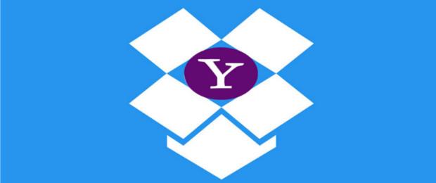 Nielimitowany rozmiar załączników? Yahoo i Dropbox łączą siły