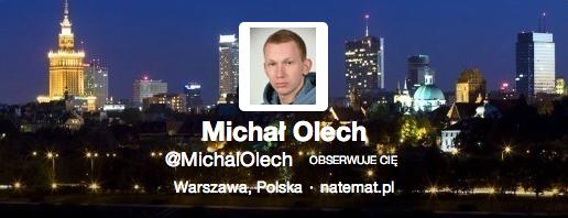 Do Michała Olecha z naTemat – chłopie, ciesz się, właśnie wygrałeś internet!