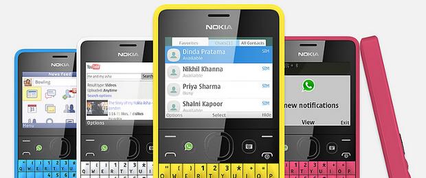 Nowa Nokia Asha 210 jest ładna, tania i do tego całkiem smart
