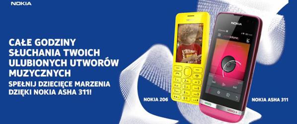 Nokia Asha dla fanów muzyki