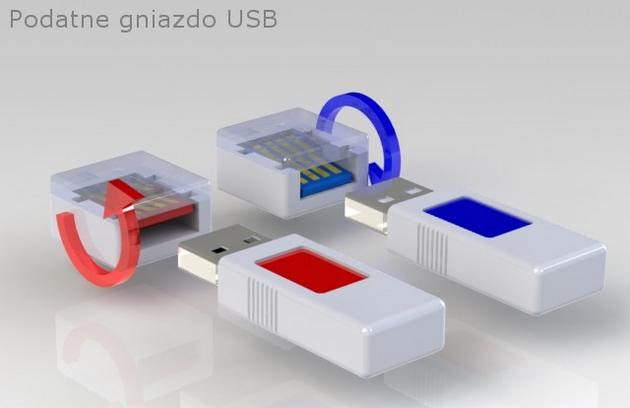 Polak wymyślił gniazdo USB, do którego zawsze włożysz pendrive'a w dobry sposób