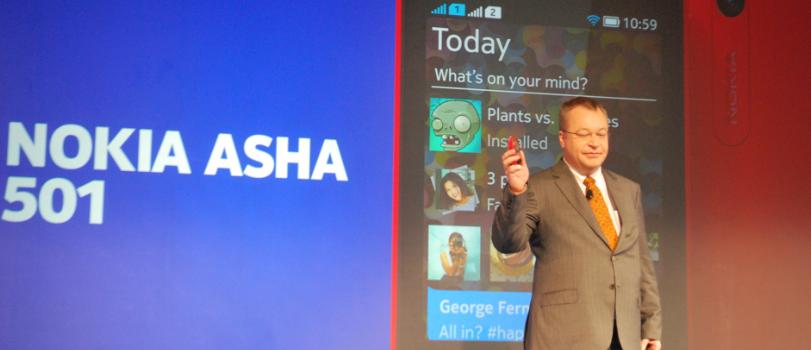 Nokia Asha 501 – odpowiedź Nokii na tanie smartfony z Androidem