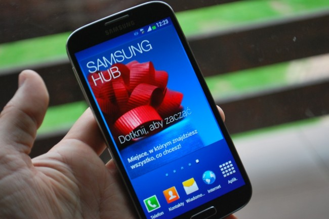 SGS4, Samsung Hub