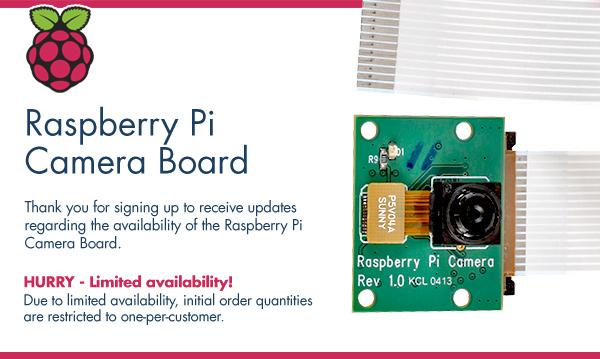 Raspberry Pi – moduł foto