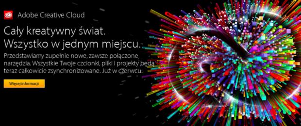 Adobe Crative Cloud to cios wymierzony w piratów