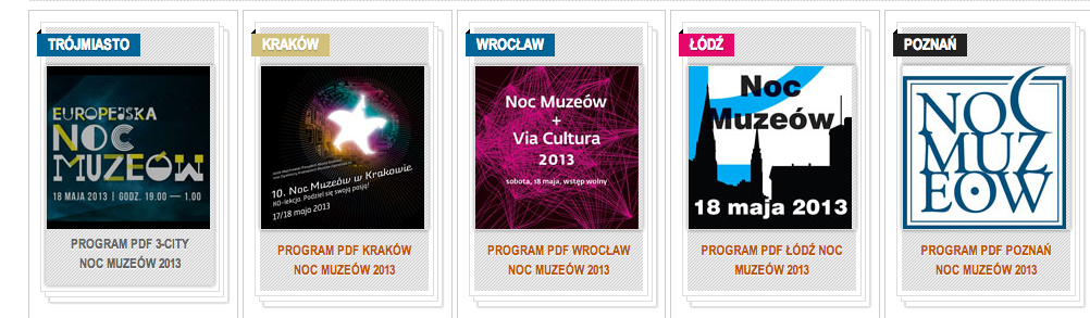 Noc Muzeów 2013 – There isn't  any app for that