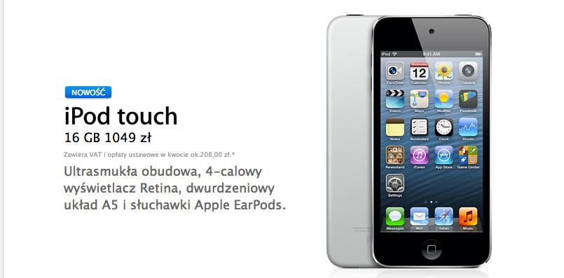 """""""Tani"""" iPod Touch – co ma wspólnego z kolejnym iPhone'm?"""