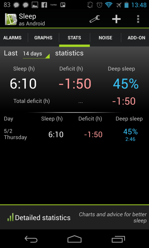 sleep as android 2