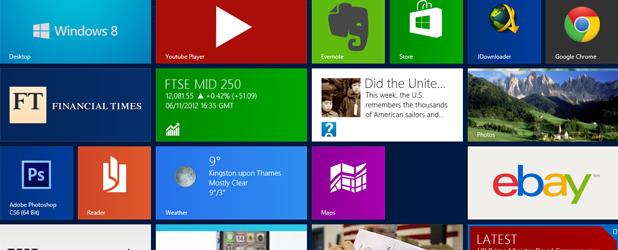 Aplikacje dla Modern UI to wielki niewypał Microsoftu