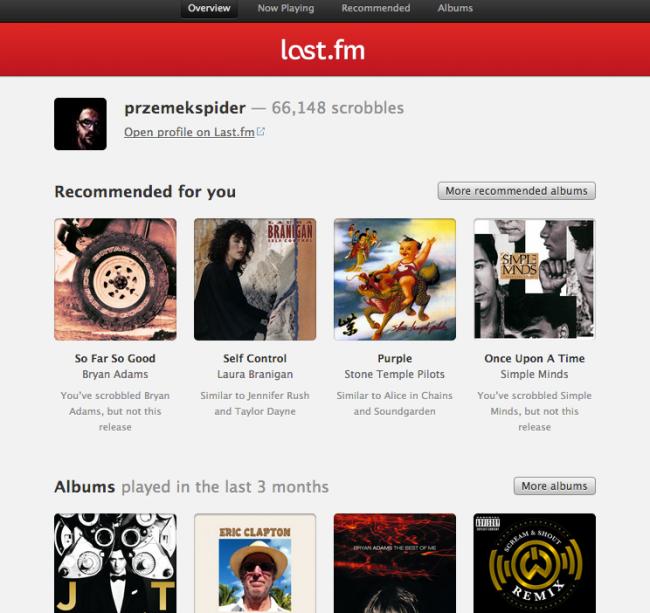 LastFm – Spotify