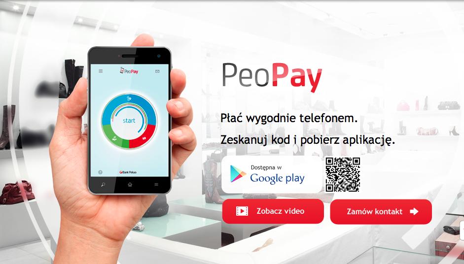 PeoPay… kolejne płatności mobilne, tym razem z kodami QR