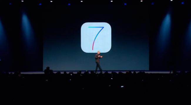 iOS 7 WWDC Tim Cook
