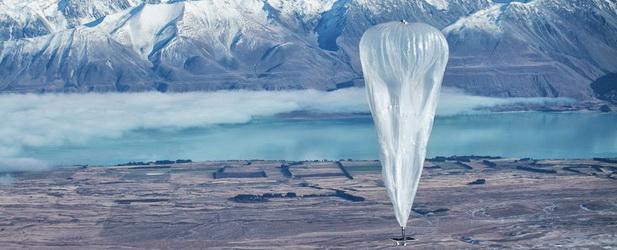 Internet z balonów? Taki pomysł na biznes ma Google