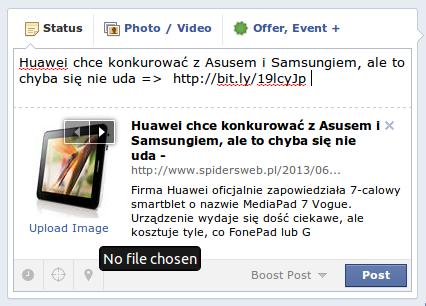 grafika na facebooku