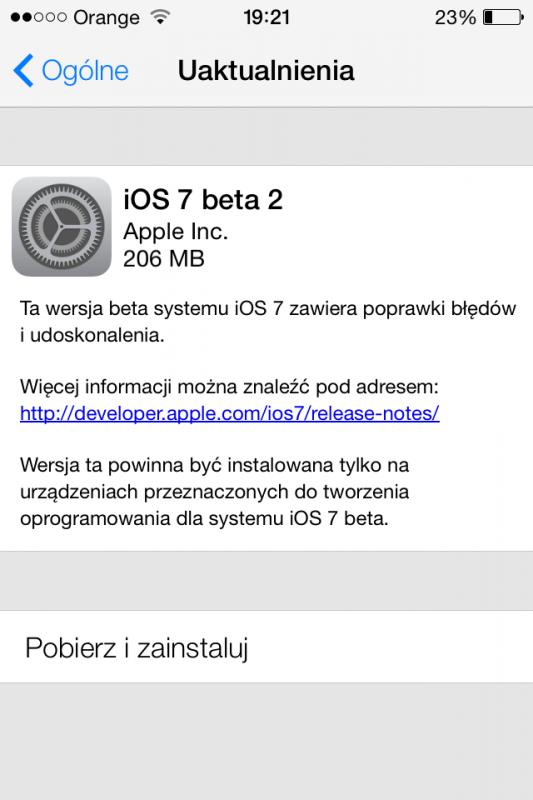iOS 7 -beta 2-2