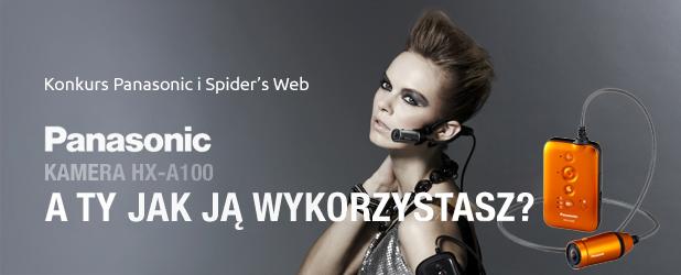 Mamy dla Was kamery Panasonic HX-A100 dla aktywnych – zapraszamy do konkursu Spider's Web