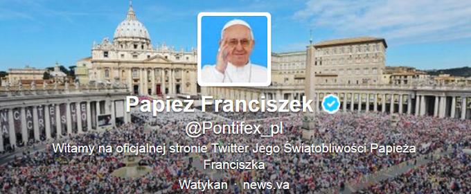 Odpust przez Twittera? Papież się zgodził
