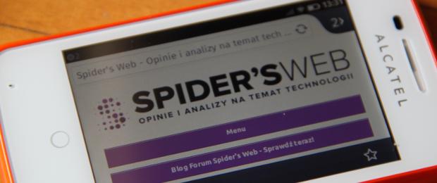 Alcatel One Touch Fire z Firefox OS – smartfon z najmłodszym mobilnym systemem operacyjnym – pierwsze wrażenia Spider's Web
