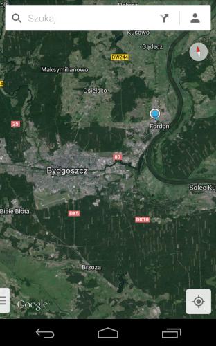 mobilne mapy google