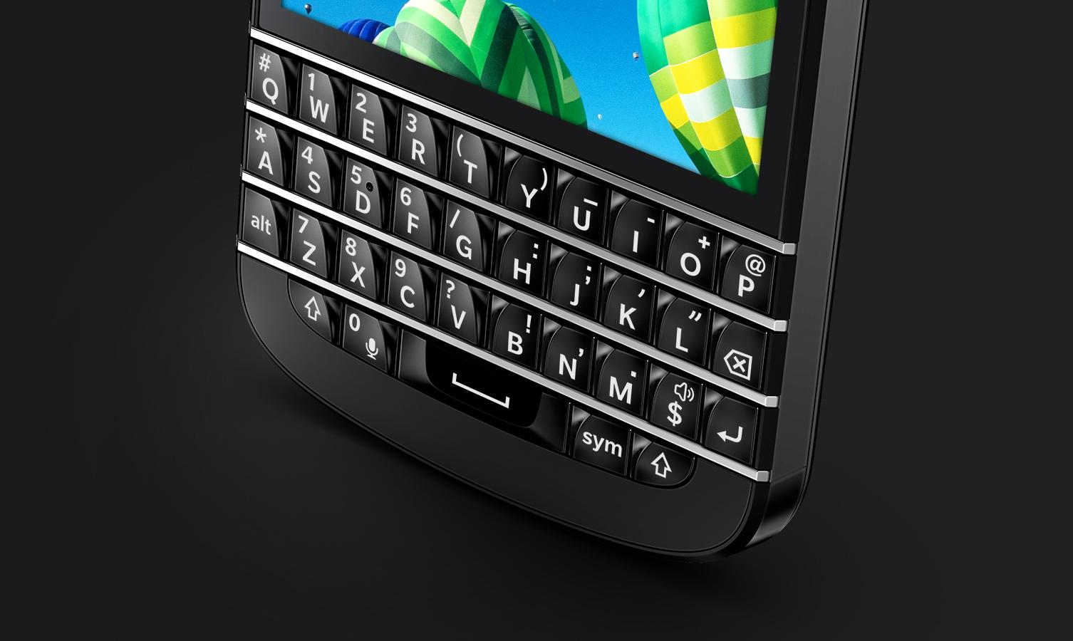 Monopol na klawiatury QWERTY? BlackBerry staje w obronie owoców swojej pracy