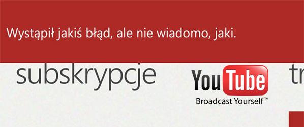"Smutny finał telenoweli pt. ""YouTube na Windows Phone"""