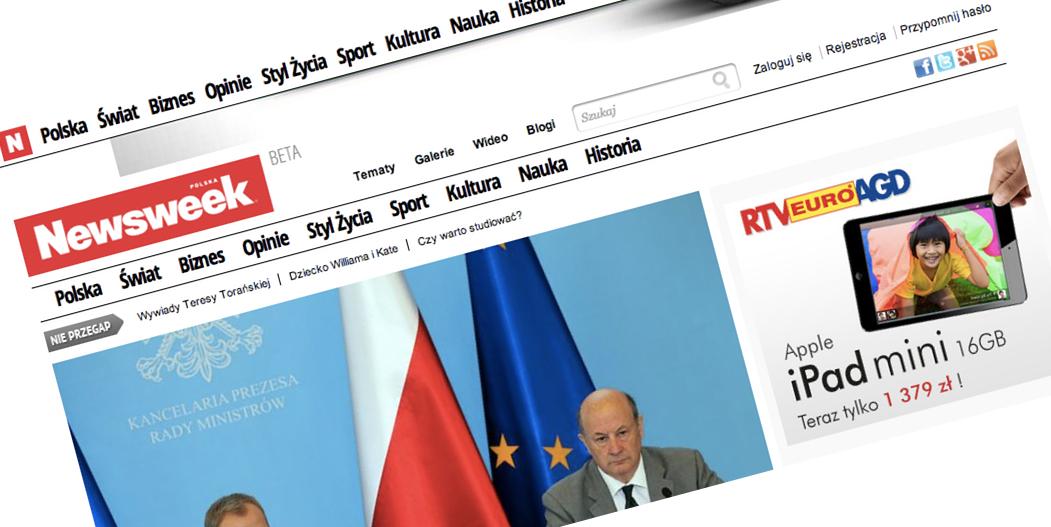 Dzisiaj w nocy rusza nowy Newsweek.pl. My już go widzieliśmy i całkiem nam się podoba