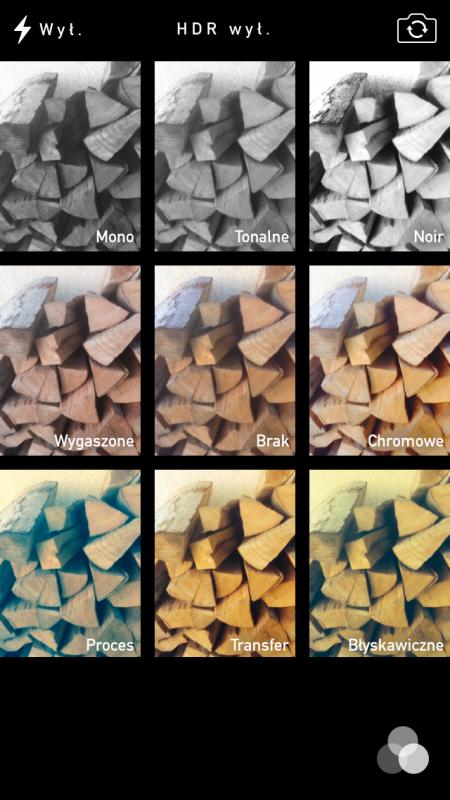 iOS7_wybór_filtrów