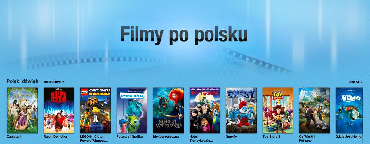 Najlepszy serwis VOD w Polsce? Beznadziejny iTunes